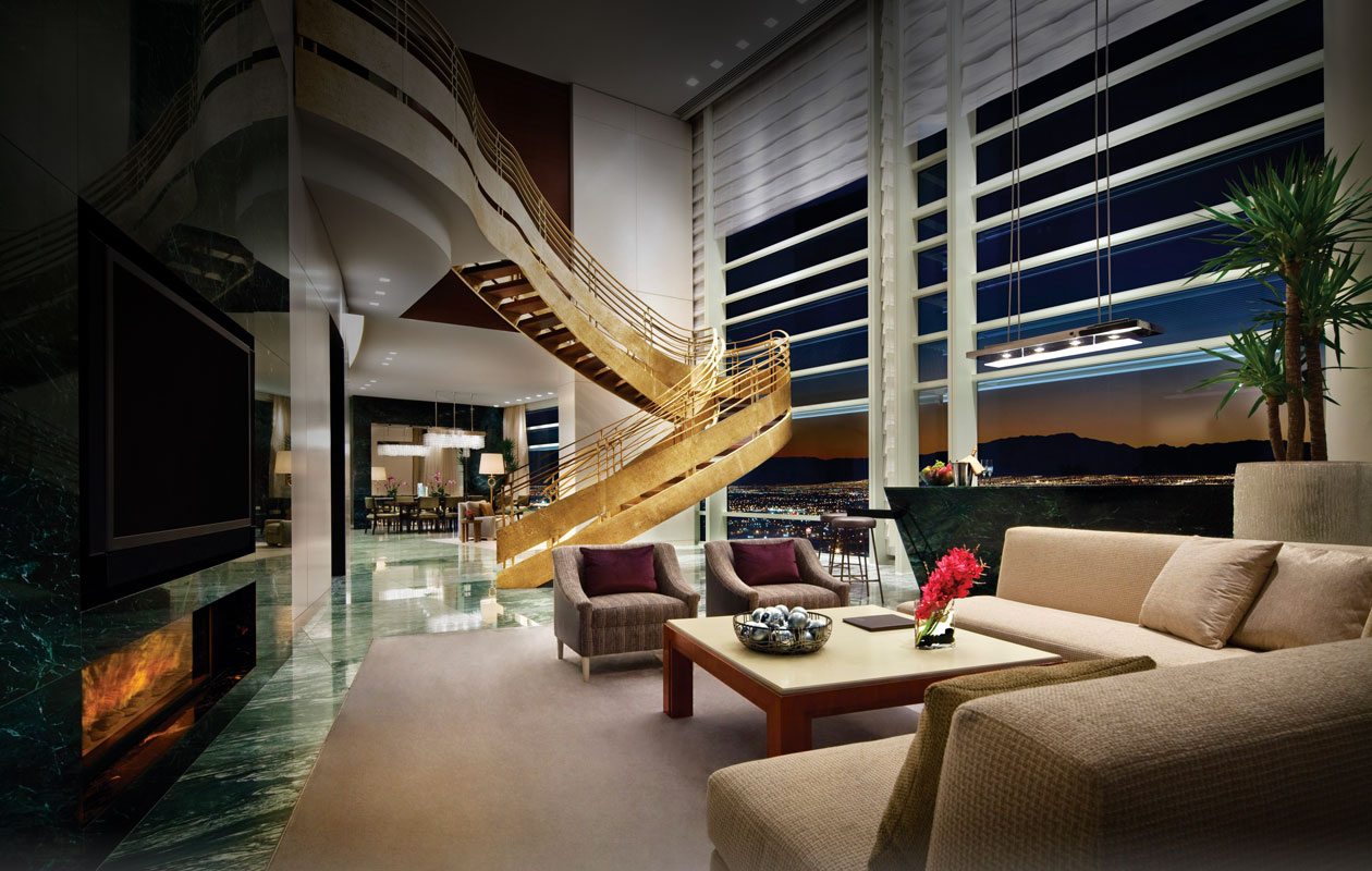 Luxury Photos Inside Aria Sky Suites Las Vegas Nevada