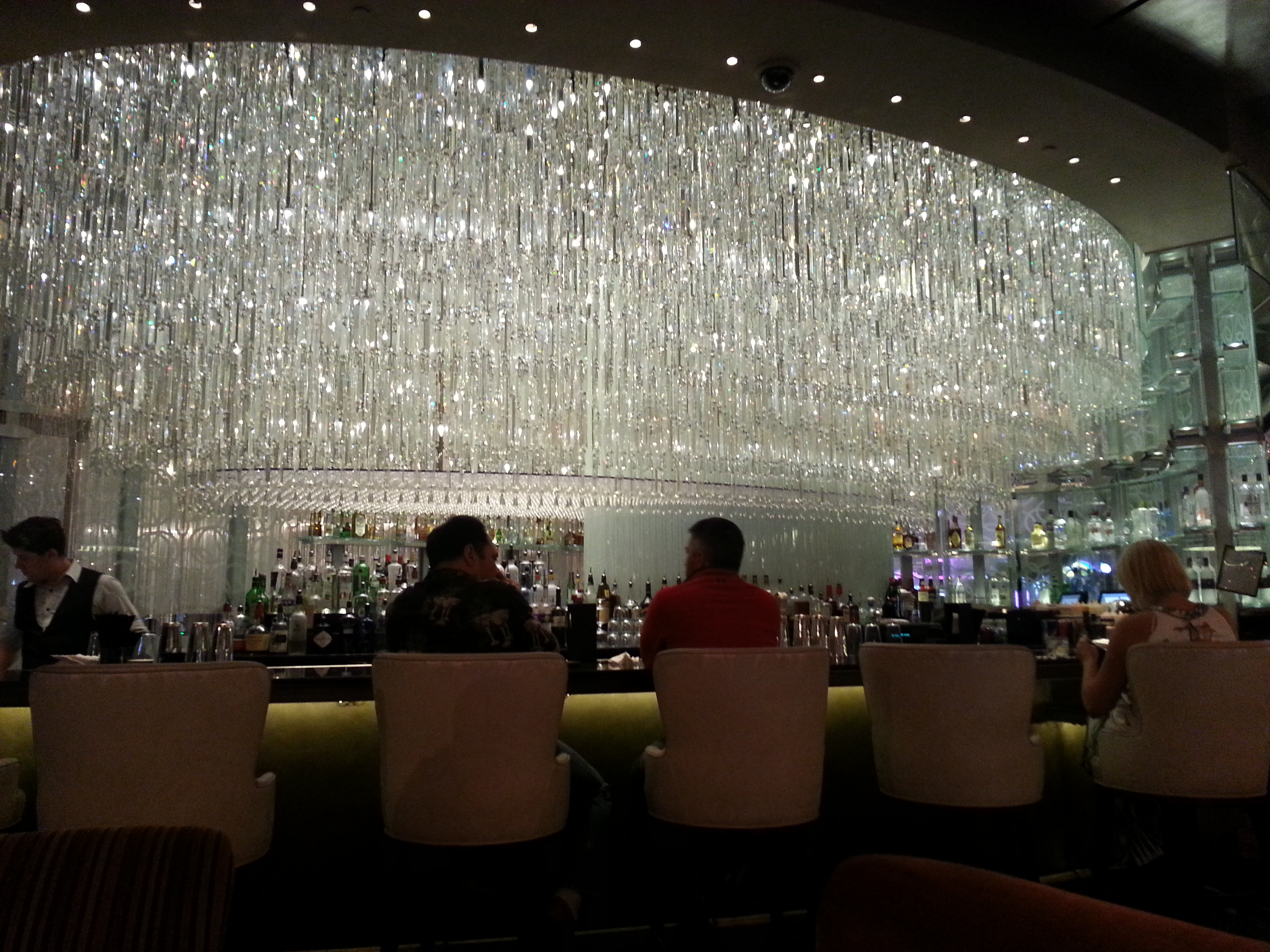 The chandelier bar lounge cosmopolitan las vegas top picks aloadofball
