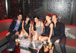 MGM Hakkasan Nightclub Lounge Room