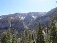 Mary-Jane-Falls-Hero-View,-Mt-Charleston-Area