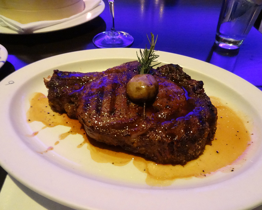 N9NE Steakhouse Palms Steak