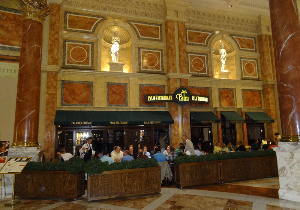 The Palm Restaurant Forum S In Caesar Palace