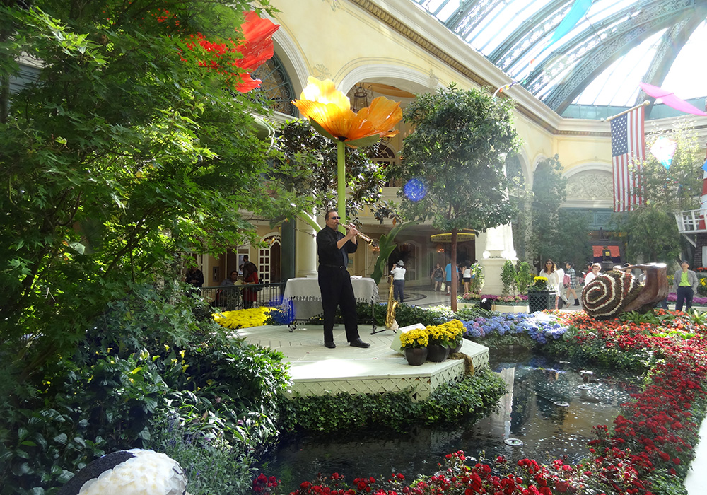 Conservatory Botanical Gardens At Bellagio Sublime