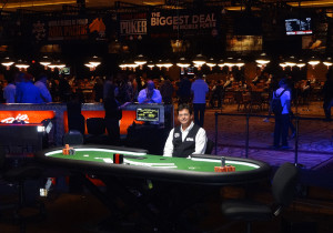 Dealer Rick Christian, Final Table, 2013 World Series ofPoker