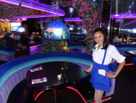 Lovely Waitress in Main Room, Peppermill Las Vegas