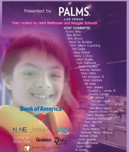 Special Olympics Event at Palms, ZING Vodka Sponsor