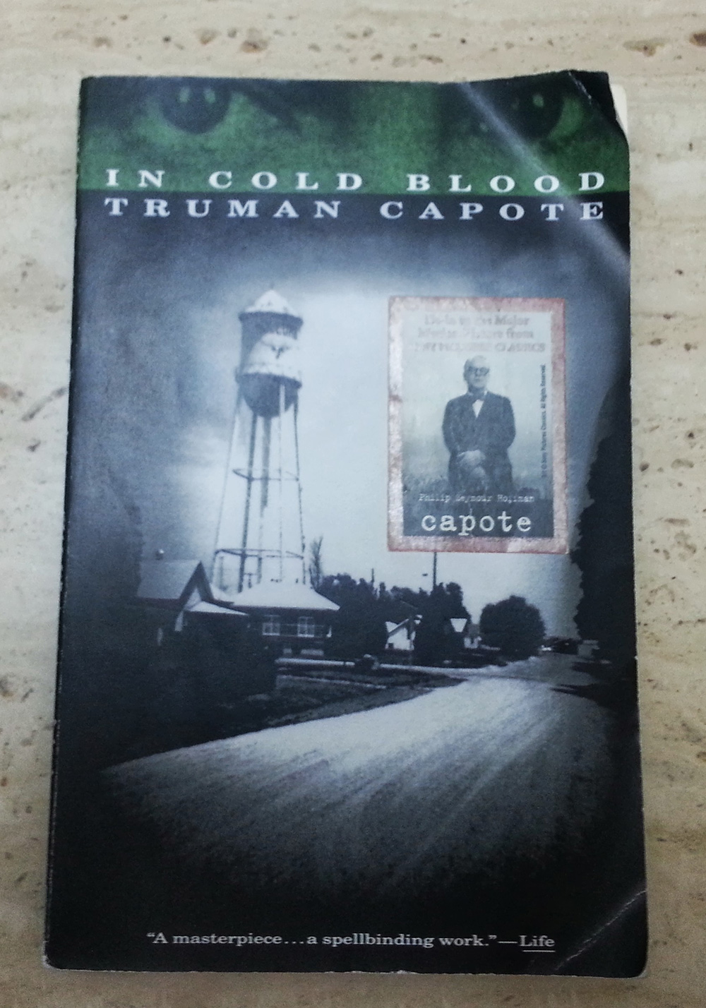 Book Cover, Truman Capote, In Cold Blood