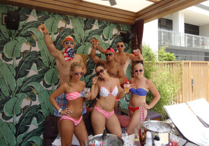 New Jersey Group, Cabana, Marquee Dayclub, Las Vegas