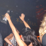 Dancing with AnestasiA Vodka Bottle, TAO Nightclub, Las Vegas
