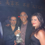 Eric, Yuliya, & Louis Abin, Managing Partner/Owner of TAO Nightclub, Las Vegas, AnestasiA Vodka
