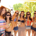 Fun-Group-with-ZING-Vodka,-Cabana,-Encore-Pool-Las-Vegas