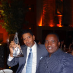 AnestasiA Vodka Team. Left, Tilford Brockett, Executive VP of Domestic Operations. Right, Bruce Caughman, Brand Manager.