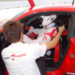 Preparing Driver, Dream Racing, Las Vegas Motor Speedway