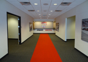 Red Carpet Walkway in Conference Center, Dream Racing, Las Vegas Motor Speedway
