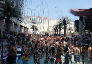 Through the Waterfall, Marquee Dayclub, Las Vegas