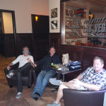 Guys Enjoying Cigars, La Casa Cigars & Lounge, Las Vegas