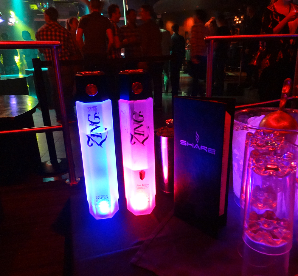 ZING Bottle Service, Share Nightclub, Las Vegas