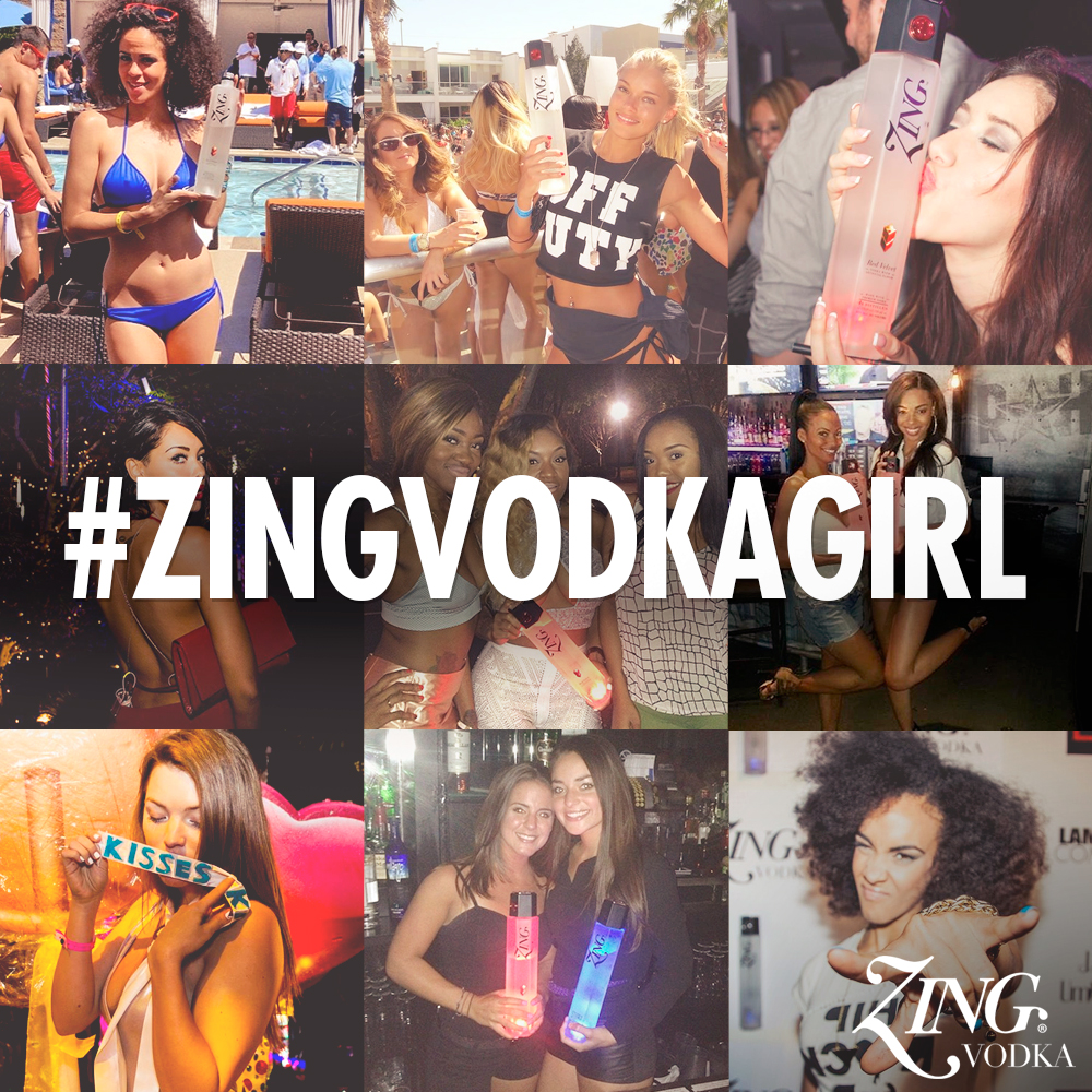 ZING Girl Contest, ZING Vodka