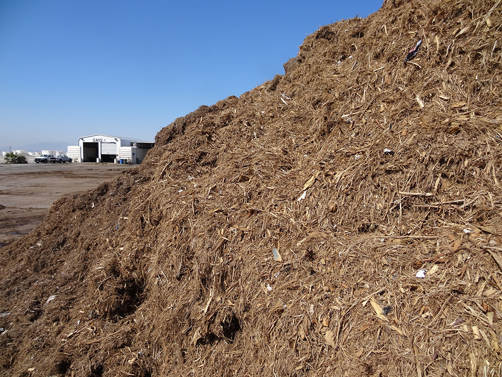 Compost Pile Close Up, A1 Organics, Las Vegas