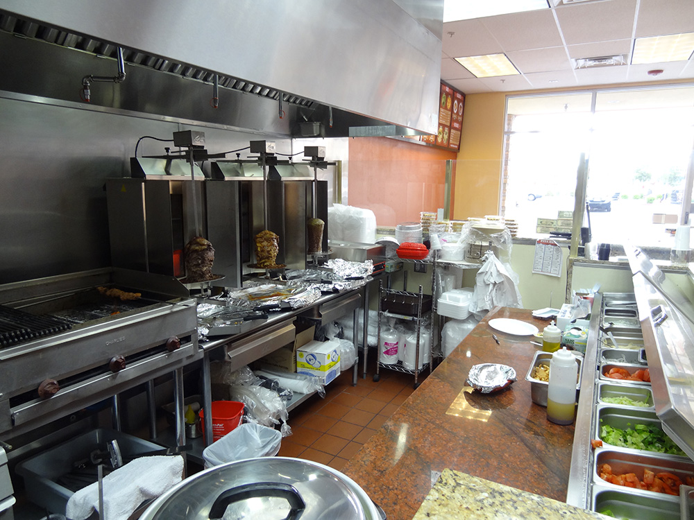 Pita House, Counter and Cooking Area, Las Vegas