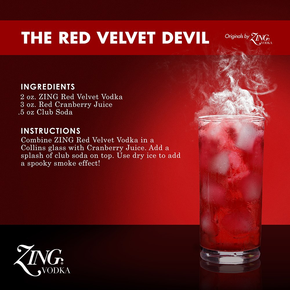 ZING Vodka, Red Velvet Devil