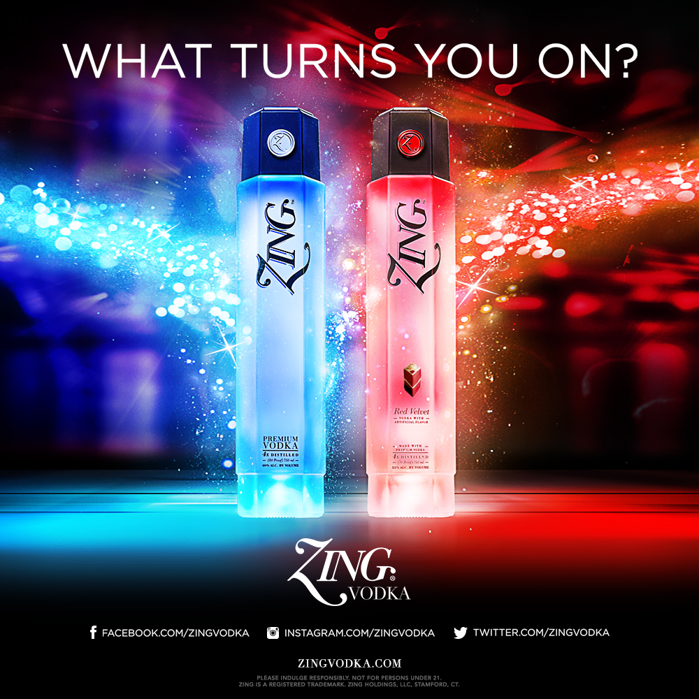 Zing Vodka What Turns You On