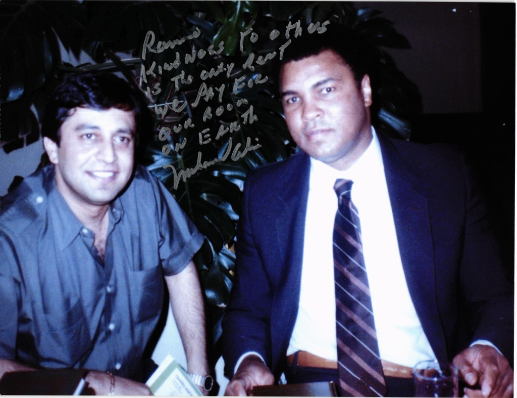 Ramon Desage and Muhammad Ali