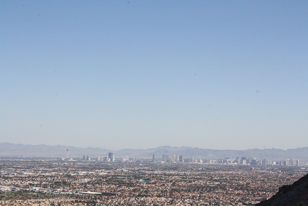 Lone Mountain Hike, Strip View, West Las Vegas