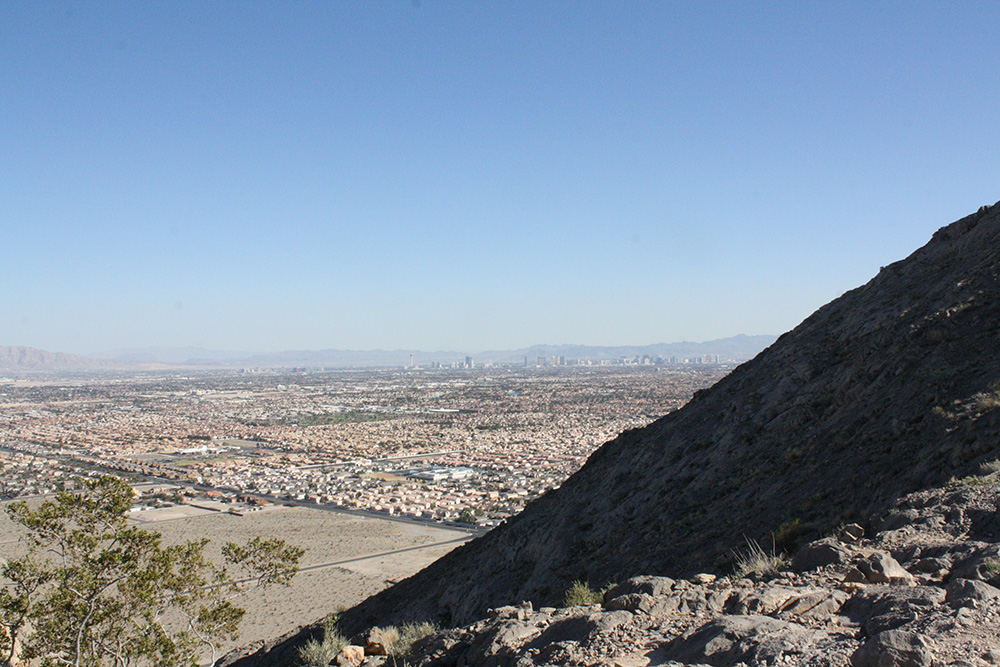 Lone Mountain Hike View, West Las Vegas