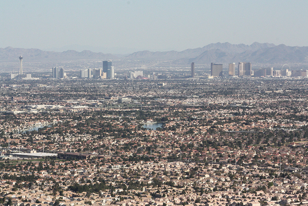 Strip View, Las Vegas, Lone Mountain Hike