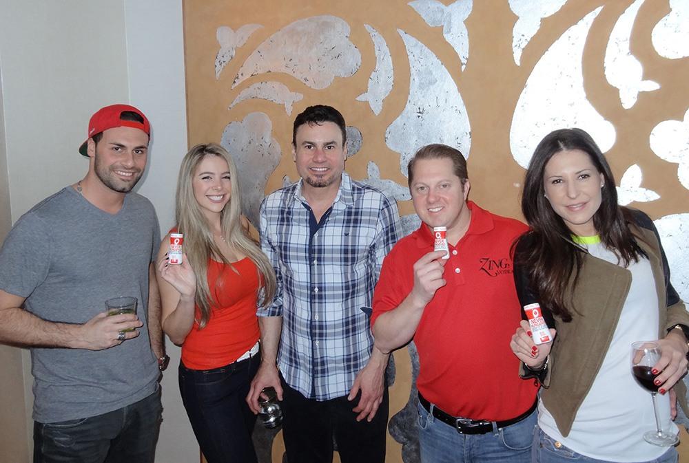 Phil Maloof & Friends, ZING Vodka, Never Hungover