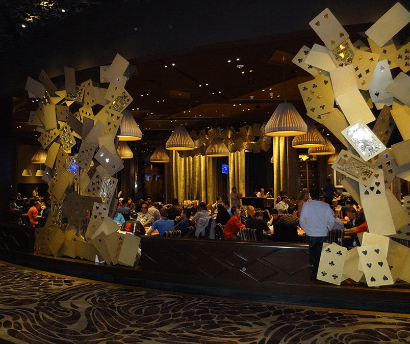 Aria Poker Room, City Center, Las Vegas