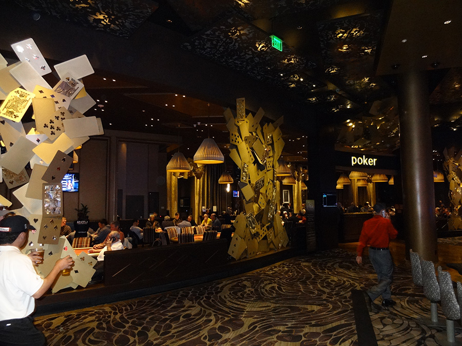 Entrance to Aria Poker Room, City Center, Las Vegas