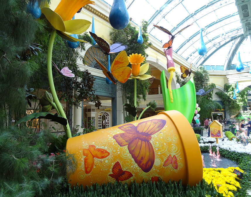 Fantasy and Greenery, Bellagio Conservatory
