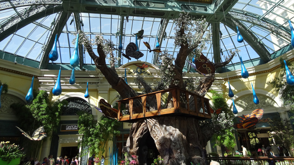 Bellagio Conservatory and Botanical Gardens, Las Vegas, Tree Fort