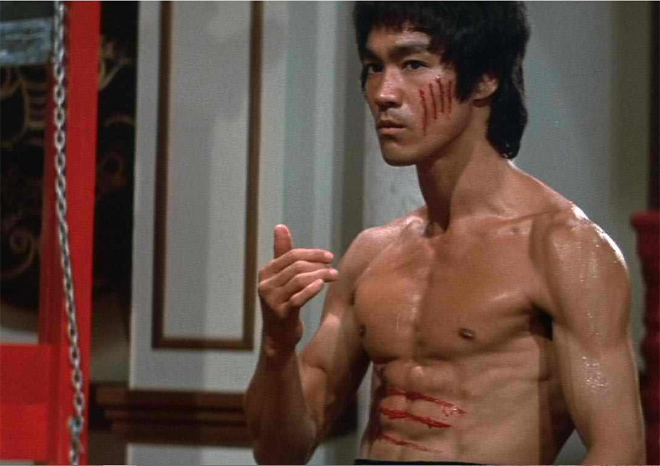 Bruce Lee, Mid Fight
