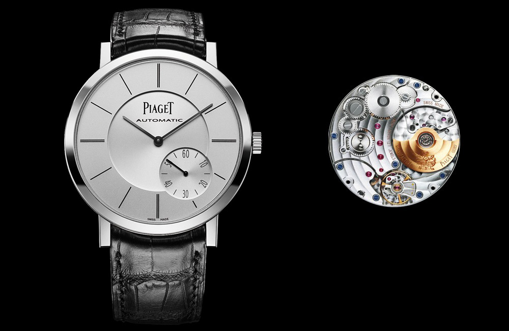 Piaget Altiplano, White Gold