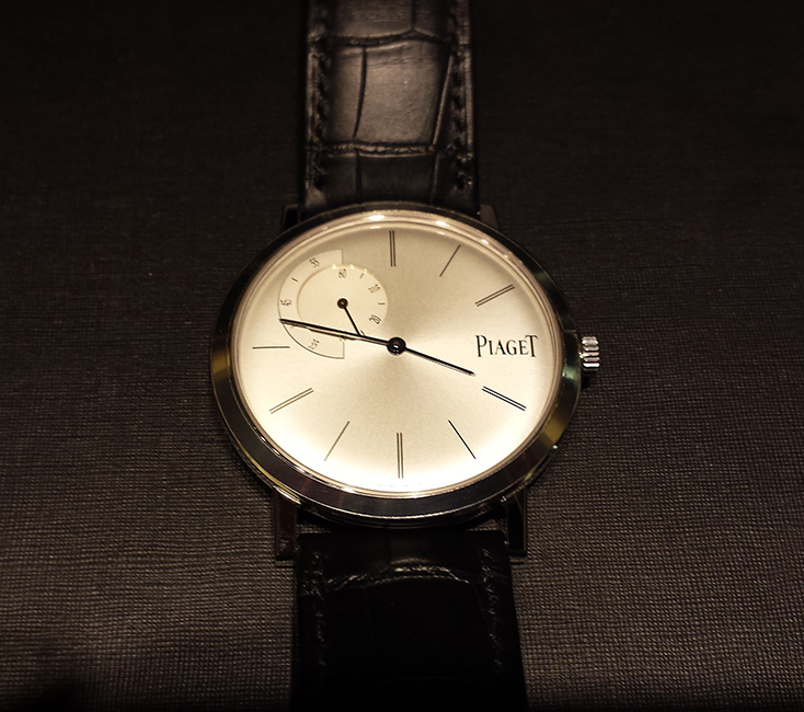 World-Record Thin Piaget Watch, Piaget Boutique, Palazzo Las Vegas