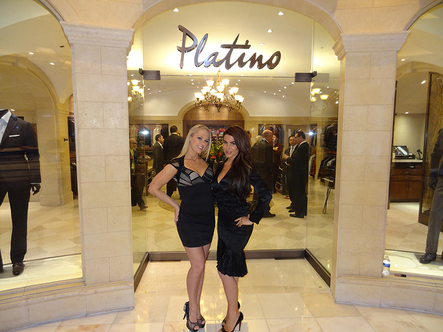 Platino Entrance, Grand Opening, Bellagio Vegas