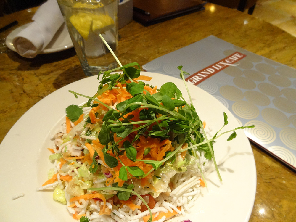 Asian Chicken Salad, Grand Lux Cafe, Venetian Las Vegas