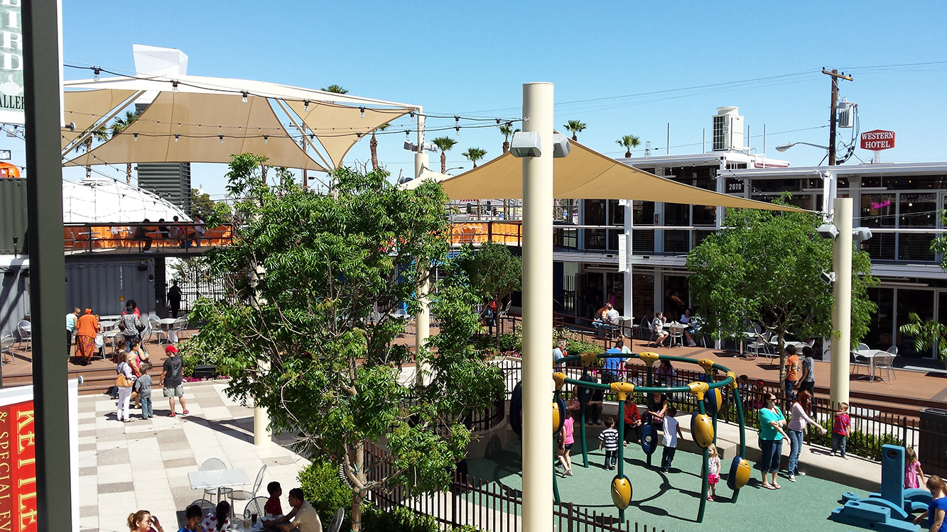 Container Park, Las Vegas, Downtown District