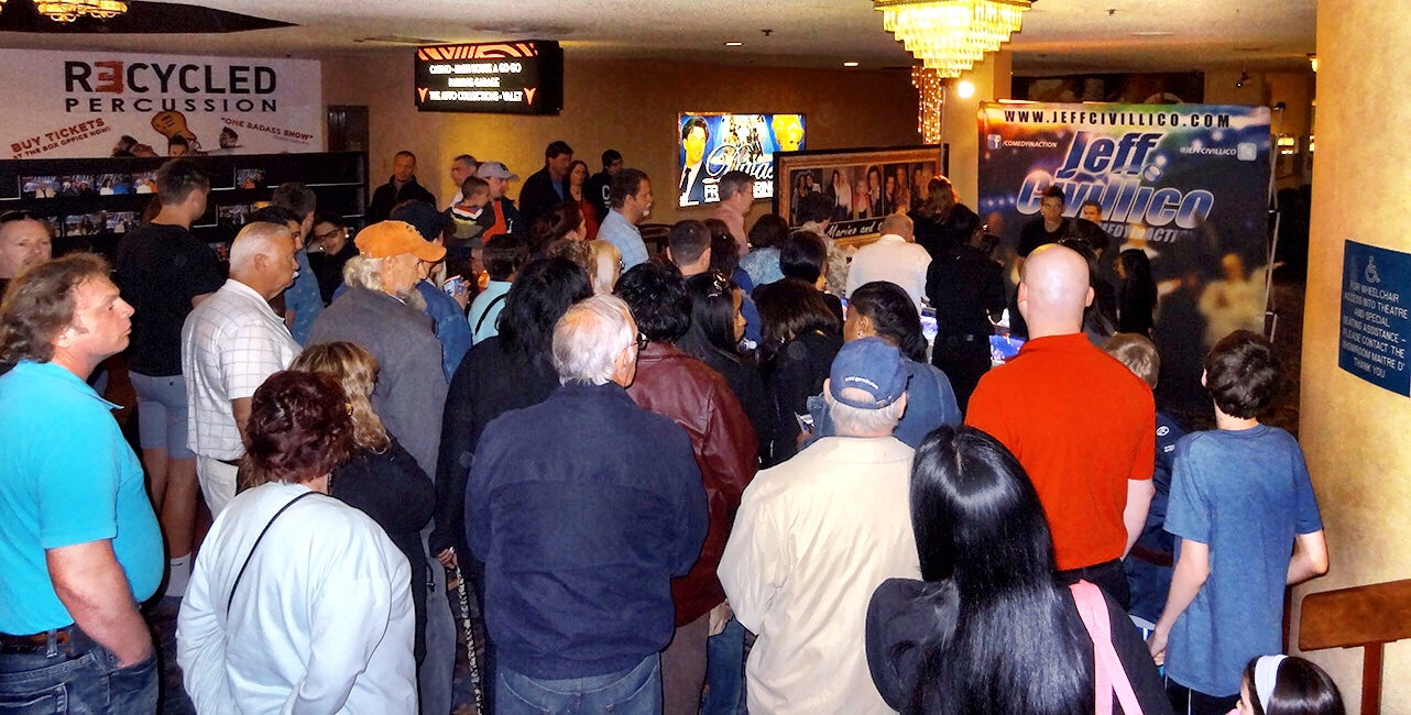 Crowd After Show, Jeff Civillico, Comedy In Action