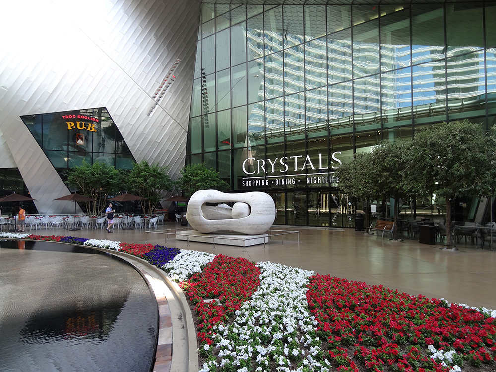 Front of Crystals Shops, Aria City Center, Las Vegas