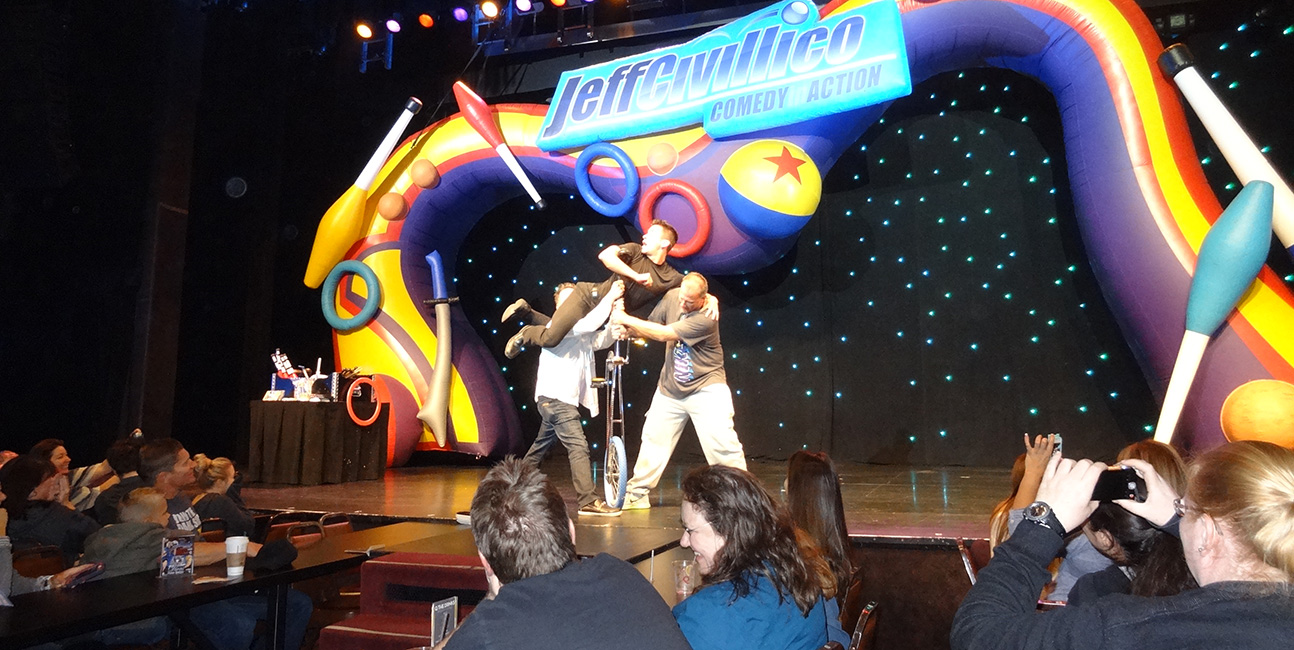 Fun Audience Participation, Jeff Civillico, Comedy In Action