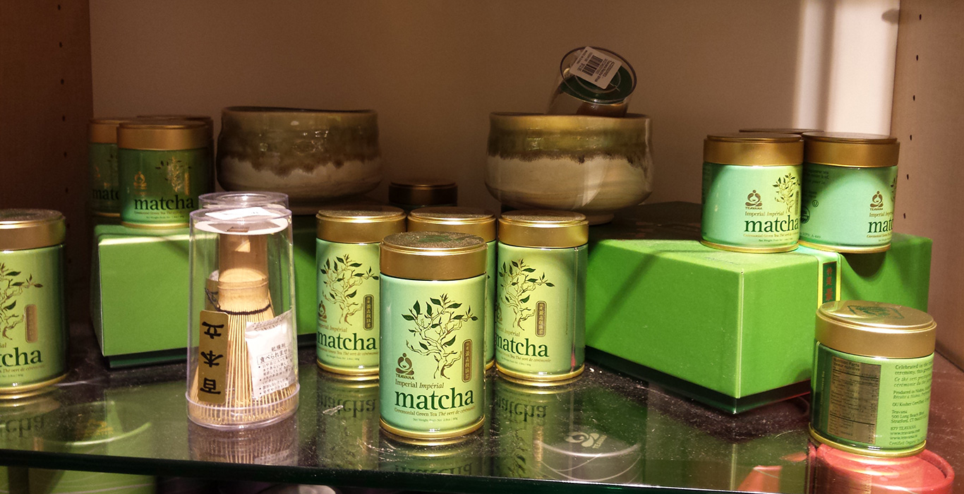 Green Tea Matcha, Teavana, Fashion Show Mall, Vegas