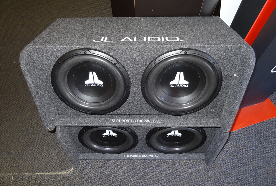 JL Audio Speakers, Audio Express, Las Vegas