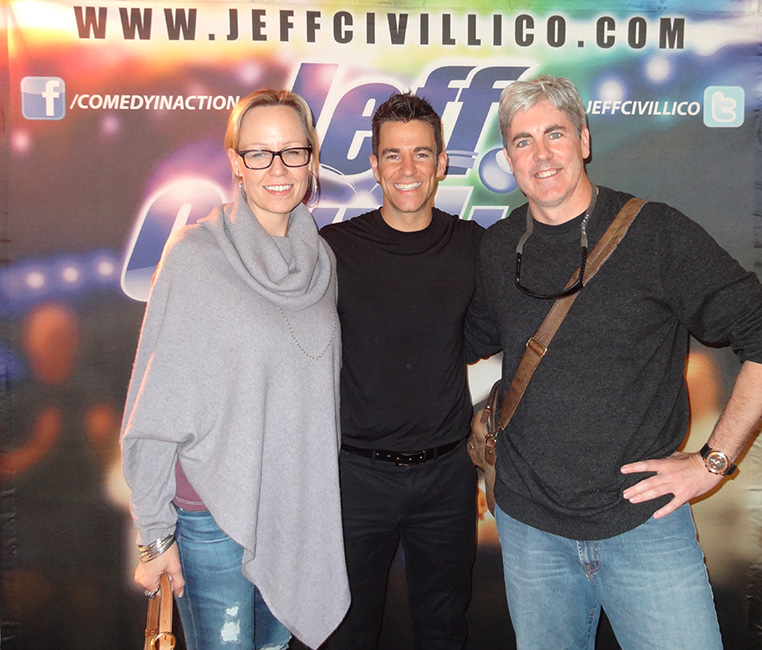 Jeff Civillico, Brendan Magone, Vivian, After Show, Comedy In Action