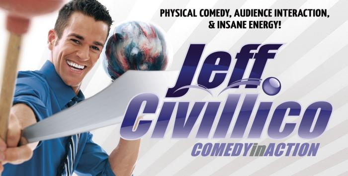 Jeff Civillico, Comedy In Action, The Quad Las Vegas