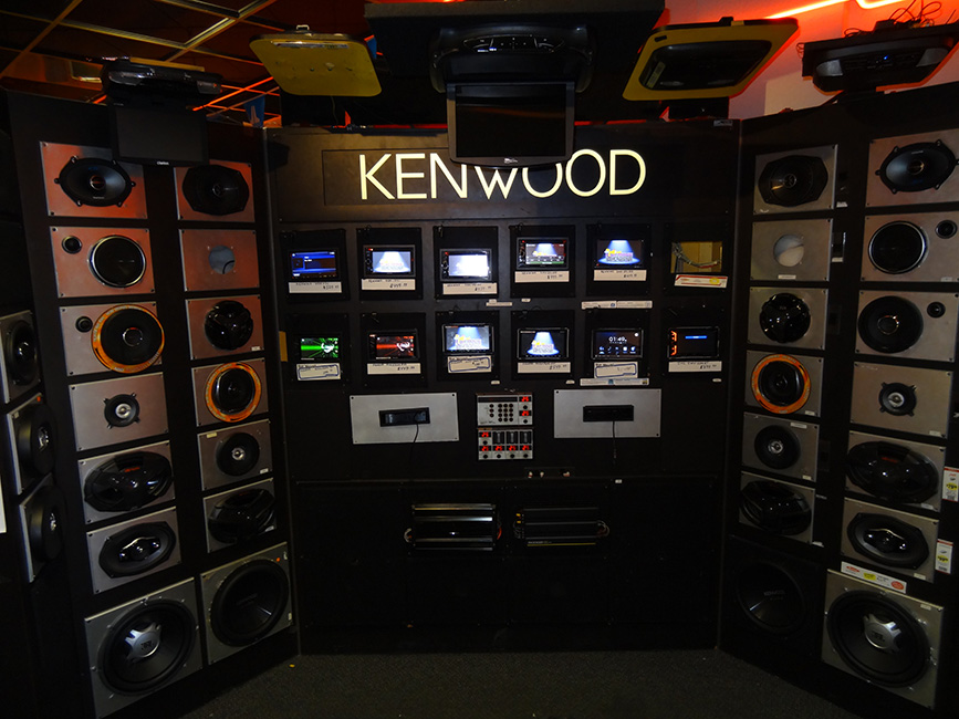 Kenwood Speakers, Audio Express, Las Vegas