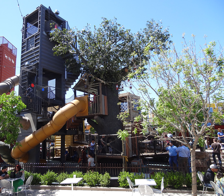 Playground in Container Park, Downtown Las Vegas